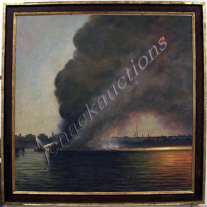 STEPHEN KUZMA (AMERICAN 1933-) OIL ON CANVAS