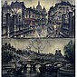 MAURICE LEGENDRE (FRENCH 1928-) LOT (2) OIL ON, Maurice Legendre, Click for value
