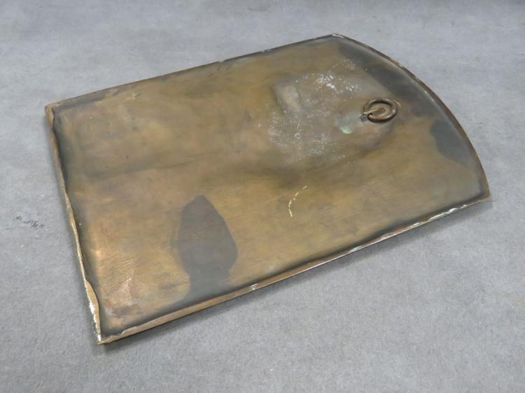Costanzo Luini Ny 1886 1980 Bronze Relief Plaque George Washington Signed C1930 9 34 X 7