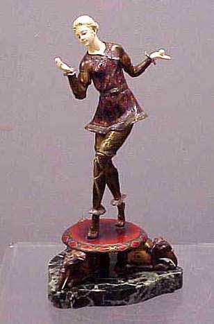 Polychrome Bronze/Ivory