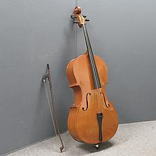 HOFFNER STYLE CELLO, ONE PIECE BACK 30.5