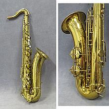 VINTAGE PAN AMERICAN, ELKHART IND. BRASS ALTO SAX