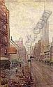 OIL ON MASONITE, Leon Louie Dolice, Click for value