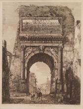 LUIGI ROSSINI (ITALIAN 1790-1857), ETCHING,