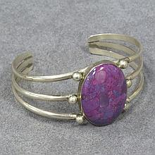 SOUTHWEST AMERICAN INDIAN STERLING BRACELET