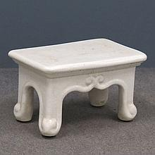 VINTAGE PORCELAIN BATH TUB STEP