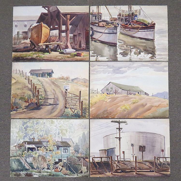 IAN HAMILTON CAMPBELL (AMERICAN/CA/NY 1905-1999)