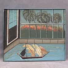 BRUNO DEL FAVERO (AMERICAN 1910-1995) OIL