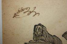 A Collection of Books with Signatures and Stamps of Great Rabbis - Handwritten Glosses