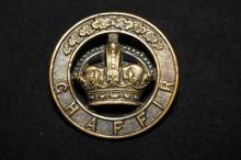 A Cap Pin of a Hebrew Policeman,
