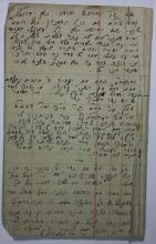 Five Notebooks of Torah Novellae in the Handwriting of a Student in the
