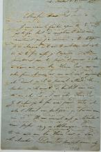 A Long Letter in the Handwriting of Rabbi Simcha Bamberger Av Beit Din of Aschaffenburg