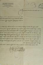 A Letter in the Handwriting and With the Signature of the Rebbe Rabbi Shalom Gershon Ginzberg