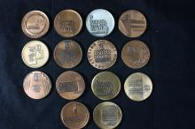 14 Bronze Medals - Israel Coins and Medals Corp - Including Special Versions