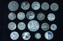 19 Silver Medals - Israel Coins and Medals Corp
