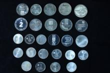 6 Silver Medals - Israel Coins and Medals Corp
