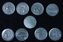 9 Silver Medals of the