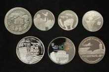 10 Silver Medals - Israel Coins and Medals Corp - the 2000's
