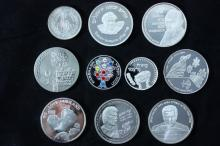 10 Silver Medals - Israel Coins and Medals Corp