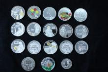 10 Silver Medals - Israel Coins and Medals Corp -