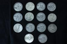 14 Silver Medals of the