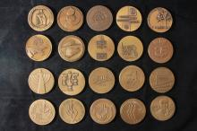 20 Bronze Medals (59 MM) - Israel Coins and Medals Corp