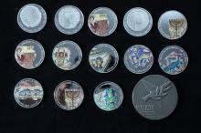 14 Silver Medals - Israel Coins and Medals Corp