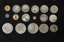 18 Silver Medals - Israel Coins and Medals Corp - the 2000's