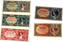 Album with 19 Hungarian Banknotes - the 1930's-1940's