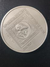 5 Ounces (999) Pure Silver Medal, Issued for the Participants of the Numismatic Congress in 1987 in Haifa and Jerusalem