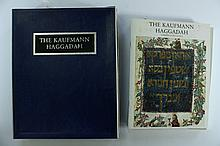 Facsimile of the Kaufmann Haggadah - Including a Research Booklet on it