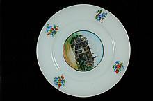 Historical Porcelain Plate, Extemely Rare, Talitha Kumi