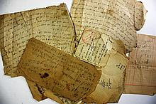 Collection of Religious Manuscripts - the 18th Century