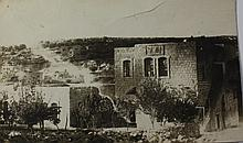 Rare Photograph of the Hebron Yeshiva in Hebron - Before the 1929 palestine Riots