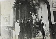 Two Interesting Photographs - the Rishon Le'Zion Rabbi Nachman Batito and Chacham Bashi Rabbi Nachum Effendi on a Visit to