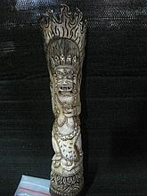 An Antique Chinese Bone Carving