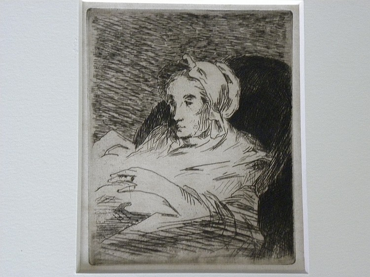 Edouard Manet (1832-1883) Etching