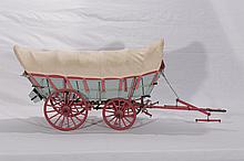 Hand Crafted Scale Model - Conestoga Covered Wagon