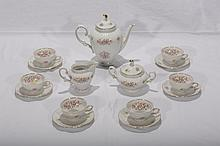 German Porcelain Tea Set
