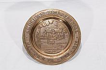 Maytown American Bicentennial Bronze Cast Plate