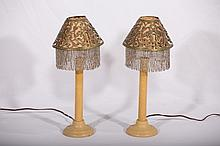 Pair of Bedroom Lamps