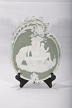 Good Wedgewood Style Wall Plaque