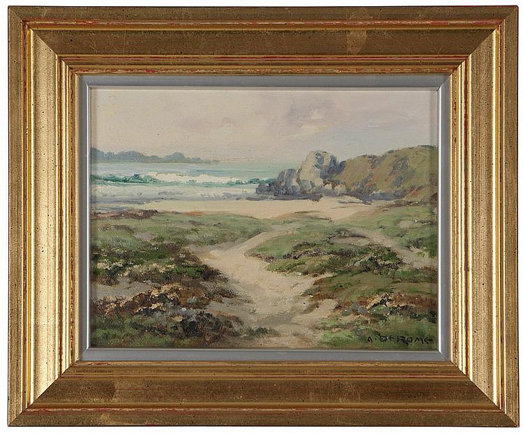 Albert Thomas De Rome (1885-1959 Carmel, CA)