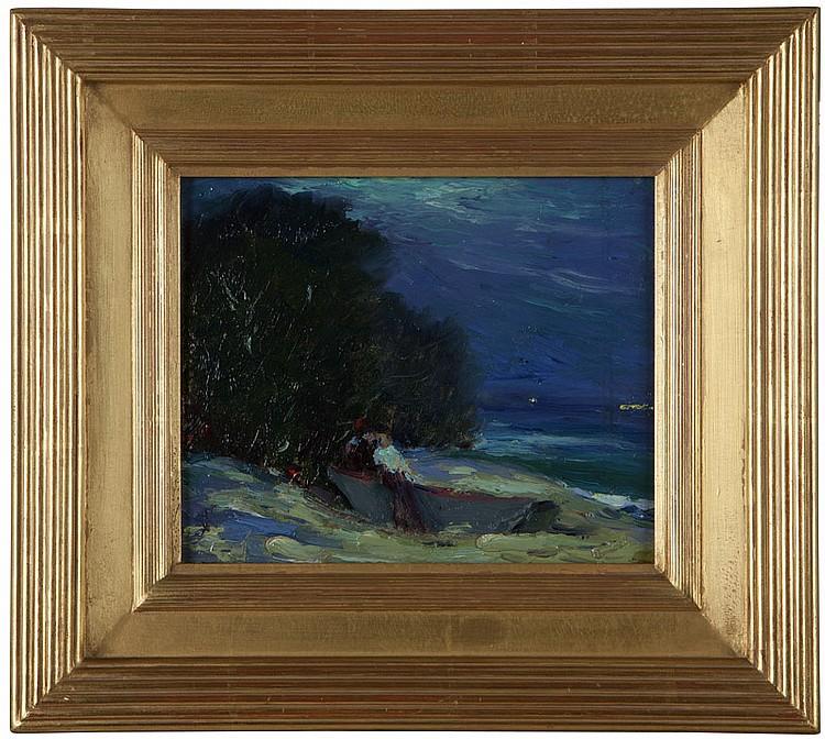 Armin Hansen (1886-1957 Monterey, CA)