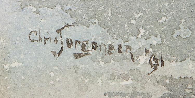 Christian A. Jorgensen (1860-1935 Piedmont, CA)