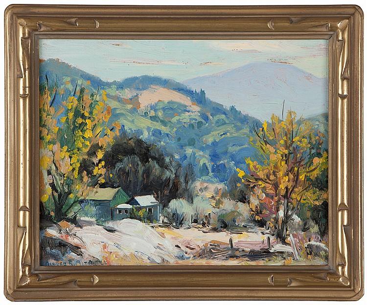 Alfred R. Mitchell (1888-1972 San Diego, CA)