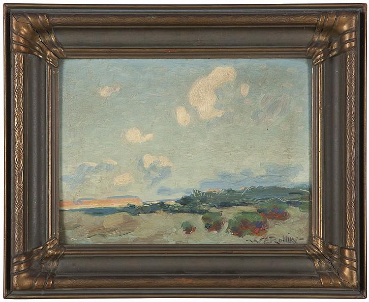 Warren E. Rollins (1861-1962 Winslow, AZ)
