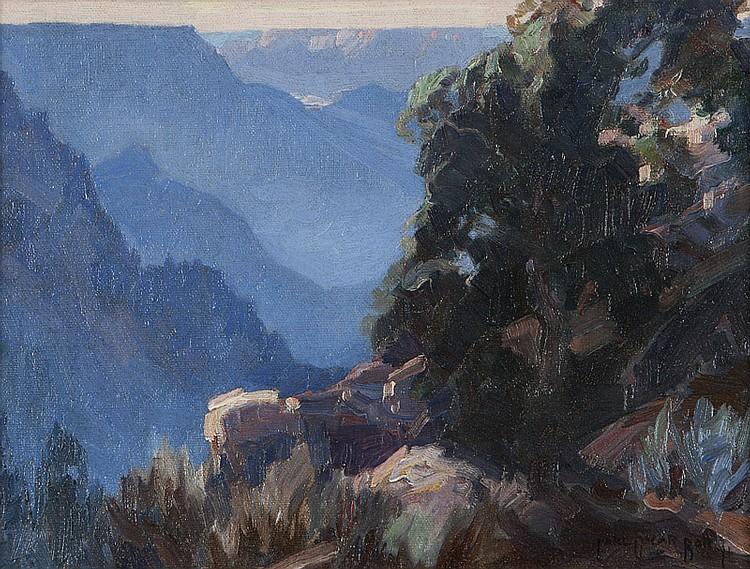 Carl Oscar Borg (1879-1947 Santa Barbara, CA)