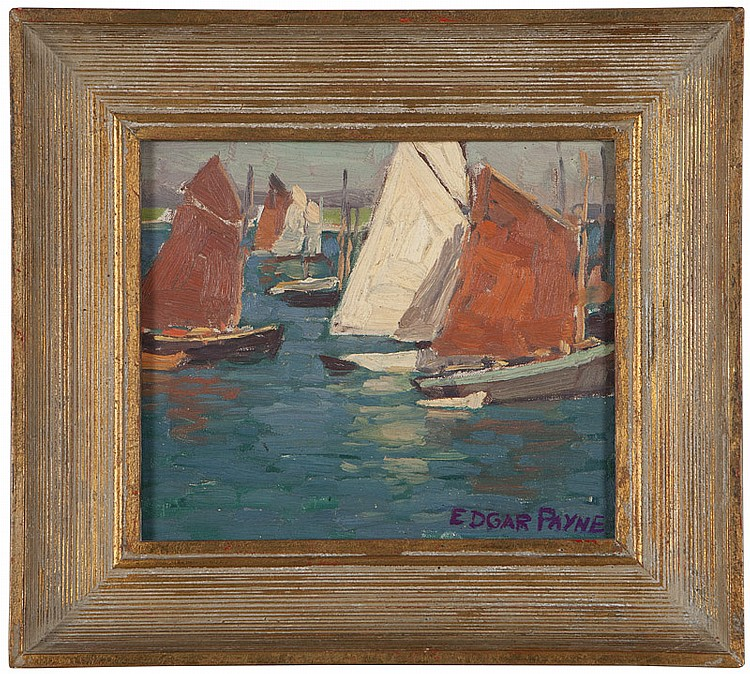 Edgar Alwin Payne (1883-1947 Hollywood, CA)
