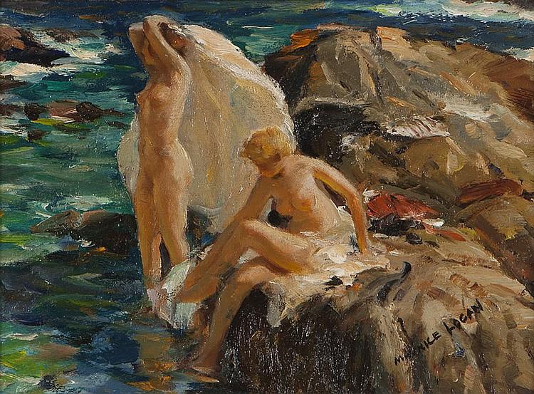 Maurice Logan (1886-1977 Orinda, CA)